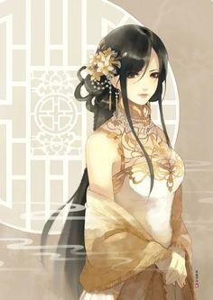 奇迹暖暖同人图——彩虹色 司徒溟泠绘制 Ngôi Sao, Painting Of Girl, Girl Paintings, Anime Chibi, Anime Art, Ban Anime, Cheese Art, Extrême Orient, Nikki Love
