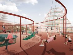 JAJA Designs- Park and Play- Parking Garage in Copenhagen