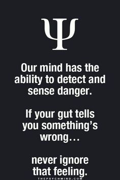 """A lot of times our intuition is right but we dismiss it because it doesn't have """"logical"""" foundation. Sometimes you just can't put these sensations into words but they are valid. Psychology Says, Psychology Fun Facts, Psychology Quotes, Psycho Facts, Physiological Facts, E Mc2, Infj, Wise Words, Knowledge"""