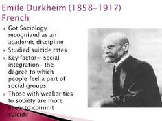 durkheim consensus theory Delinquency, crime, and suicide are often reactions to anomie although durkheim's concept of anomie referred to a condition of relative the theory of anomie.
