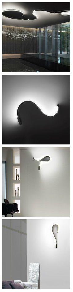 Великолепная идея осветительного прибора FORMALA, представляет собой своеобразную светодиодную ленту, которая может одинаково удачно расположиться как на потолке так и на стене. #светильники #освещение #подсветка #светодиоды #светодизайн #светодиодныесветильники #светодиодноеосвещение #светодиоднаяподсветка #свет #дизайндома #дизайнквартир #дизайнинтерьера #светодиоднаялента #освещениедома #потолочныйсветильник #настенныйдекор #декор