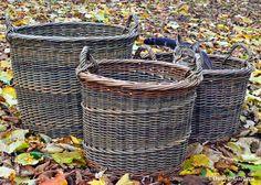 Spike the basket cat and three log baskets/ blog