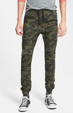 ZANEROBE  Sureshot  Slim Tapered Leg Jogger Chinos available at  Nordstrom  Pantalones De Camuflaje ff39ef33da97