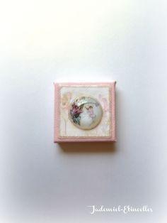 """Mini toile décorative série """" Il était une fois : les fées """" n°3 : Accessoires de maison par jademiel-etincelles"""