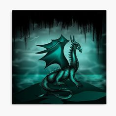 Fantasy world art with a female dragon. Fantasy World, Fantasy Art, Symbolic Art, Power Animal, Female Dragon, Animal Totems, Vector Art, Mystic, Digital Art