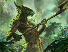 Lizard dude for Spellweaver TCG you can play for free on Steam store.steampowered.com/app/429… or website spellweaver-tcg.com/ facebook: Spellweaver