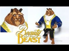 Beast (Beauty & The Beast) Inspired Poseable Doll - Polymer Clay Tutorial - YouTube