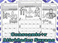 consoantes + r