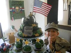 G.I. Joe Soldier Birthday Party | CatchMyParty.com