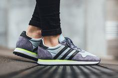 "adidas Haven ""Easy Blue/Solar Yellow"" - EU Kicks Sneaker Magazine"