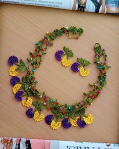 Different Types Of Earrings To Wear Diy Earrings Dangle, Diy Earrings Easy, Seed Bead Necklace, Beaded Necklace, Crochet Bracelet, Bead Crochet, Crochet Crafts, Crochet Lace, Crochet Earrings