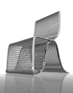 Chequered Chair by Dima Loginoff