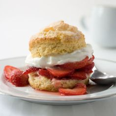 Rich and Tender Shortcakes with Strawberries and Whipped Cream   America's Test Kitchen