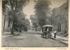 Walt Whitman's house on Mickle Street, Camden, New Jersey. 1890s