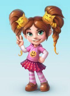 Kids Cartoon Characters, Got Characters, Cartoon Games, Cartoon Kids, Cartoon Styles, Cute Cartoon Girl, Cartoon Girl Drawing, Cg Art, Female Character Design