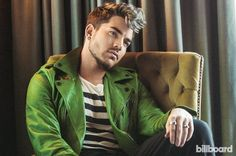 Adam Lambert photographed by Ramona Rosales for Billboard