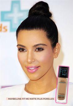 As 2 bases favoritas da Kim Kardashian! E elas custam 2 dígitos!! - Fashionismo
