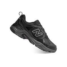 New Balance 481 Men's Trail Running Shoes, Size: medium (11.5), Black