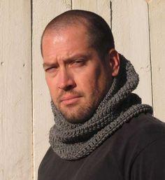 crochet guys cowl