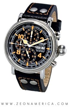 The Ingersoll Watches USA Oklahoma IN2802BK is one watch that with hit a homer every time! This watch is beautifully crafted and features a 45mm Stainless Steel Case, Exhibition Back and 22mm Black on Orange Genuine Leather Strap. What color combination would you like most on a watch? Comment to let us know!