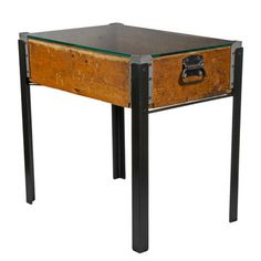 Bottling Factory Box End Table now featured on Fab.