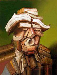 Pinzellades al món: Llibres lectors / Libros lectores / Books readers