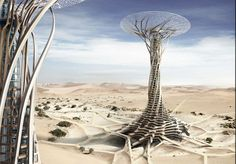 Sand Babel, 2014 eVolo Skyscraper Competition Winners