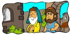 Farizeër en de tollenaar 1 / Baú de Recursos para o Ministério Infantil: Fariseu e publicano