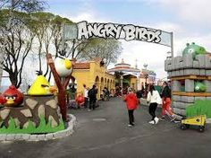 parque tematico - angry bird