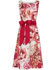 Garda Print Dress by Phase Eight. The perfect Valentine's Day Dress!