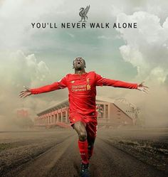 Liverpool Football Club, Liverpool Fc, Football Team, Liverpool You'll Never Walk Alone, Uefa Super Cup, Something In The Way, Battle Cry, European Cup, Walking Alone
