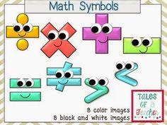 Math pals-math symbols character cartoon clip art -127 images ...