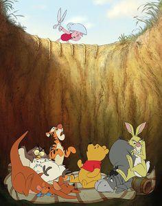 He voiced piglet in several Winnie the Phoo movies. Tigger Winnie The Pooh, Pooh Bear, Eeyore, Cute Disney Wallpaper, Cartoon Wallpaper, Disney Love, Disney Art, Pixar, Christopher Robin