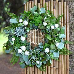 Silk flowers Silk Flowers, Floral Wreath, Wreaths, Home Decor, Floral Crown, Decoration Home, Door Wreaths, Room Decor, Deco Mesh Wreaths