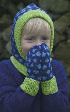 Elefanthue og vanter - Strik til børn - Håndarbejde og strikkeopskrifter - Familie Journal
