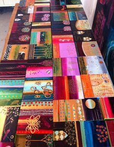 I'm sorry I missed the December sale of original Flora Bowley's artwork!