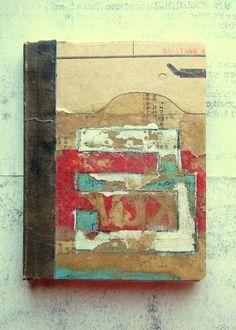 notebook by B a s t i a n o  www.flickr.com/ph... www.etsy.com/... #handmade_books #collage #crafts