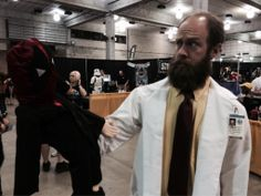 Dr. Krieger taking a day off from I.S.I.S, looking to give my bionic legs....