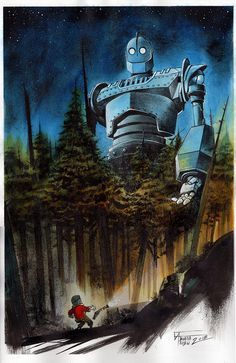 The Iron Giant by Fabiano Ambu