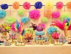 #carnaval #mesa #festa #mesadecorada #máscaras