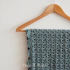 Haak & Maak: Franse sjaal haken - link naar patroon