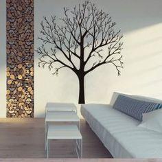SHARE & Get it FREE | Simple Big Tree Pattern Wall Sticker For Livingroom…