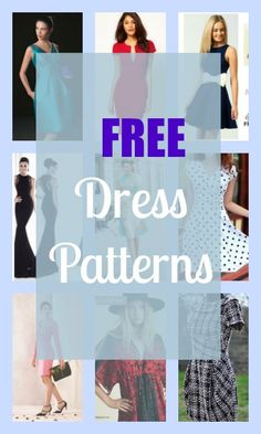 FREE dress patterns