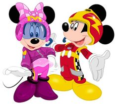 Roadster Racers Mickey & Minnie