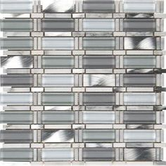 MS International Icelandic Blend Pattern 12 in x 12 in x 8 mm Glass Metal Stone MeshMounted Mosaic Tile  Lot of 50 sheets * Click on the image for additional details. Note: It's an affiliate link to Amazon.