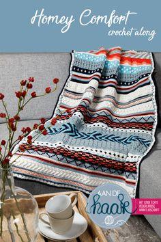 Ideas Crochet Afghan Star Projects For 2019 Crochet Afghans, Striped Crochet Blanket, Crochet Wool, Crochet Quilt, Crochet Pillow, Tapestry Crochet, Afghan Crochet Patterns, Diy Crochet, Crochet Stitches