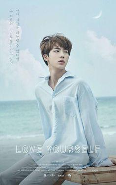 #Jin #BTS #Love_yourself
