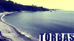 Video of the Torbas beach in Coaña, Asturias, Spain.