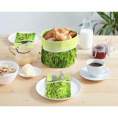 Nähpaket Tischset Gras - grasgrün