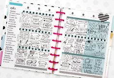 Love how Vanessa is using her Happy Planner™ to doodle about her week | Petite&Co Blog
